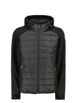 garcia softshell jas gj930810 zwart