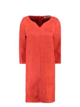 garcia suedine jurk gs900780 rood