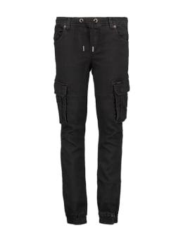 garcia cargo broek ge930900 zwart