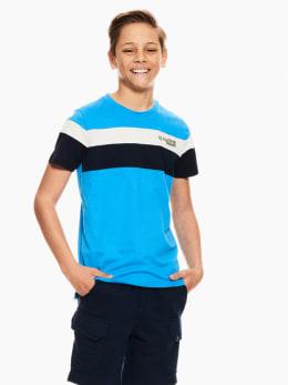 garcia t-shirt blauw p03605