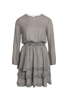 sisterspoint jurk zwart-wit nicoline