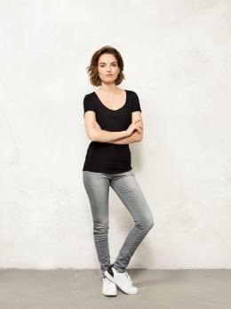 jc basic t-shirt organic cotton jc7000902 zwart