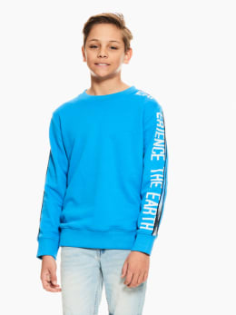 garcia sweater blauw p03660