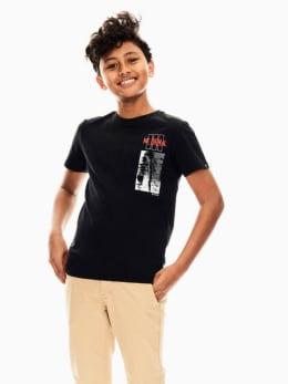 garcia t-shirt zwart s03400
