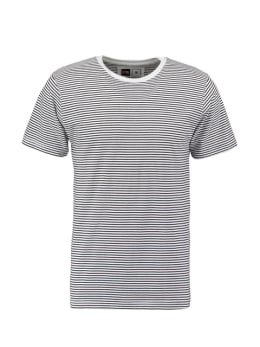 dedicated t-shirt zwart stockholm stripes