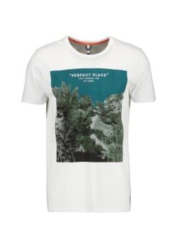 chief t-shirt met fotoprint wit pc010401
