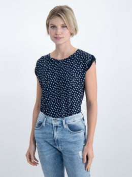 garcia t-shirt o00004 donkerblauw