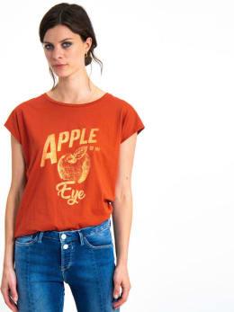 garcia t-shirt met opdruk h90202 rood