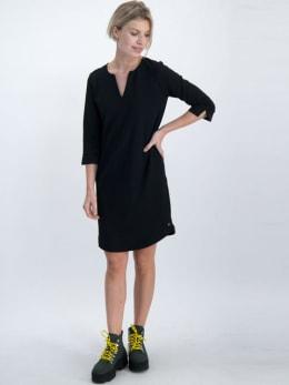 garcia jurk gs000180 zwart