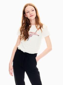 garcia t-shirt wit s02401