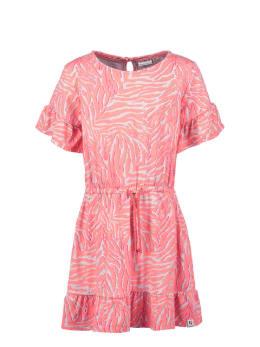 garcia jurk met allover print o04662 roze