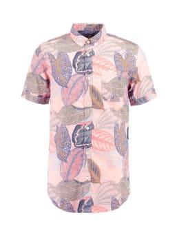 garcia overhemd korte mouwen e91026 roze