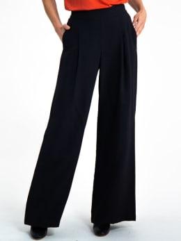garcia wijde broek i90119 zwart