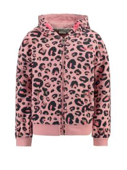 garcia vest met print h94651 roze