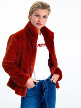 garcia fluffy jas gj900905 rood