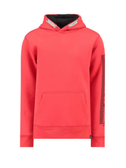 garcia hoodie met opdruk h93660 rood
