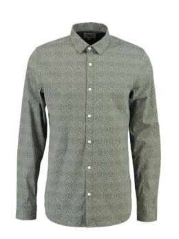 Garcia Overhemd Lange Mouwen PG811103 Groen