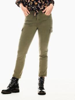 garcia broek groen t00310
