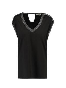 garcia t-shirt korte mouwen G90007 zwart