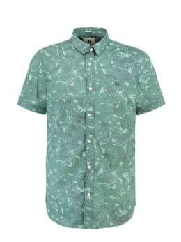 garcia overhemd korte mouwen GE910503 groen