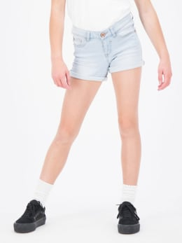 garcia sara 511 slim fit shorts bleached
