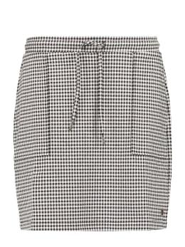 garcia pied-de-poule rok ge900904 zwart-wit
