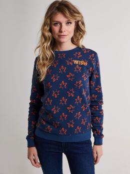 make-a-wish sweater jc0001 blauw