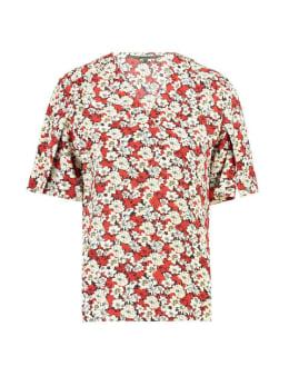 garcia t-shirt met print h90234 rood