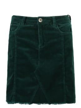 garcia rok met fluweel j90321 groen