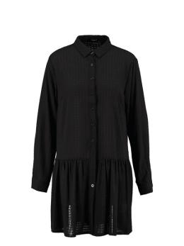 sisterspoint overhemdjurk met patroon nimble zwart
