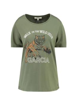 garcia t-shirt i90003 groen