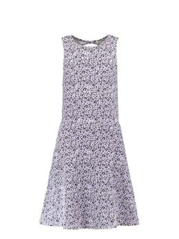 garcia jurk met print e92483 lila