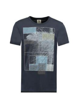 Garcia T-shirt Korte Mouwen D91204 Donkerblauw