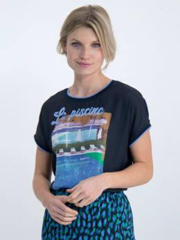 garcia t-shirt o00008 donkerblauw
