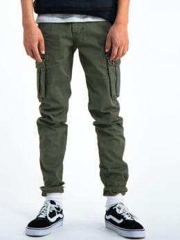 garcia cargo broek h93715 groen