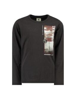 garcia t-shirt met opdruk i93400 zwart