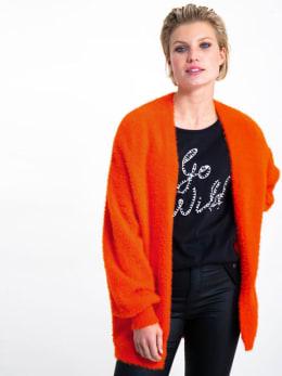 garcia fluffy vest gs900754 oranje-rood