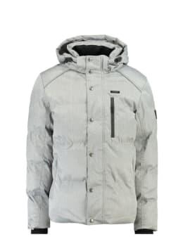 garcia waterafstotende winterjas gjJ910913 zilver/grijs