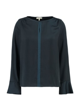 garcia blouse gs900730 donkerblauw