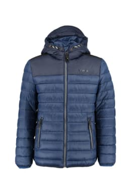 garcia puffer jas gj930801 donkerblauw