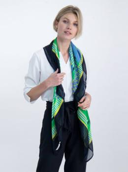 garcia sjaal met allover print o00130 wit
