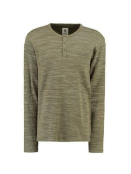 garcia t-shirt met lange mouwen gs910706 groen