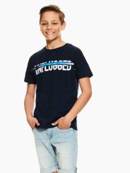 garcia t-shirt blauw p03606