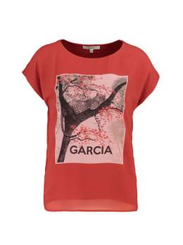 garcia T-shirt met korte mouwen pg900903 rood