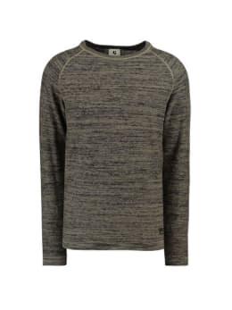 garcia trui gemêleerd gs910730 grijs-groen