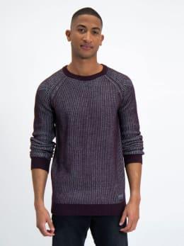garcia trui met raglanmouwen l91045 rood