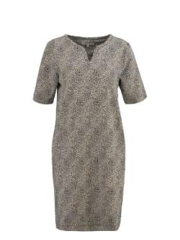 garcia jurk met allover print g90085 grijs