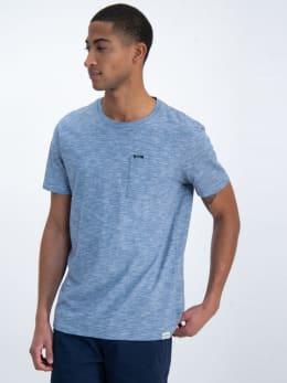 garcia t-shirt gs010101 blauw-grijs