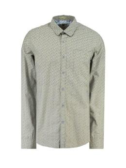 garcia overhemd met allover print h91225 ombre