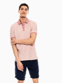 garcia polo met print roze q01081
